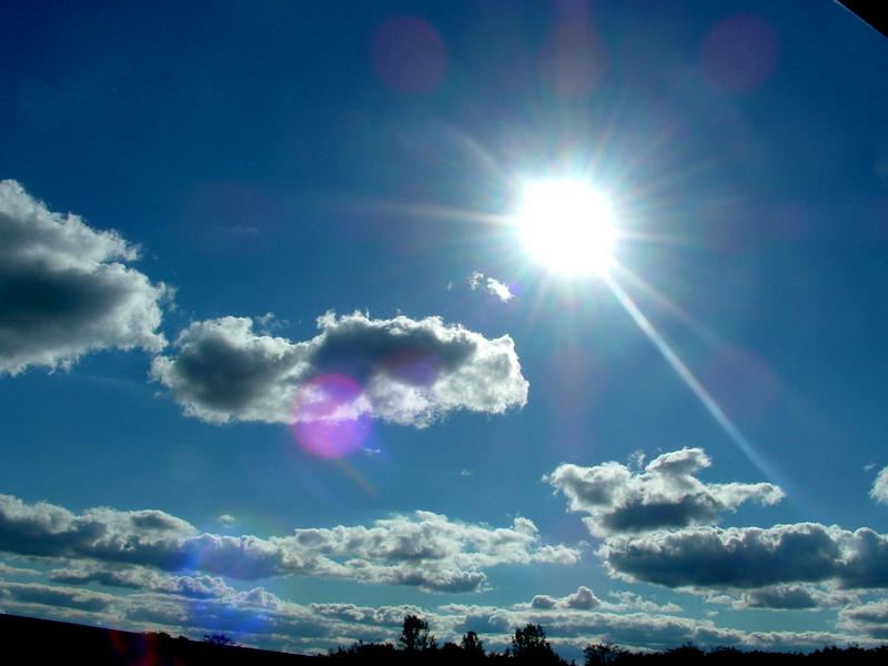 sunny skies wallpaper. Sunny Sky Beach
