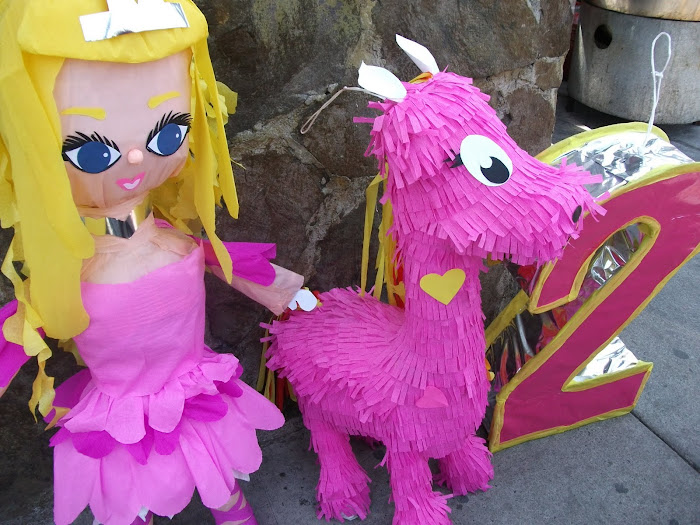 Piñata rosa