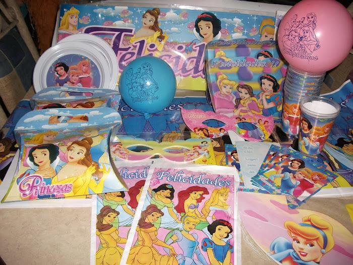 desechables princesas