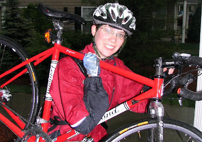 Image of happy bicyclist