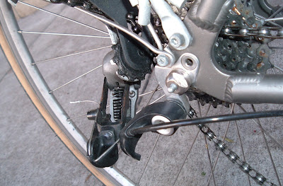 Image of broken SRAM derailleur