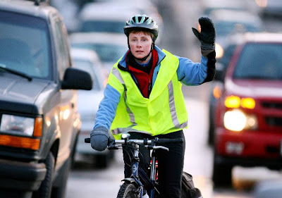 Image of Madison bike commuter Kathy Rasmussen