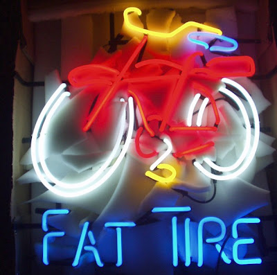 Image of Fat Tire Ale neon sign