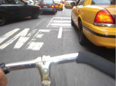 Cover image from Why I Ride, bicycling in New York