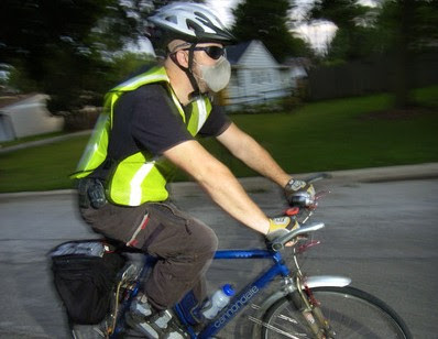 Image of Chicago-area bike commuter Nick Lenarz