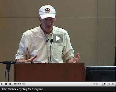 Video capture of John Pucher speaking at Simon Fraser University in Vancouver, BC