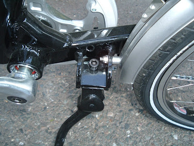 Image of Giant Halfway fender and kickstand bracket