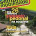 Semana da Mobilidade comemorada em Torre de Moncorvo com passeio pedonal na Ecopista