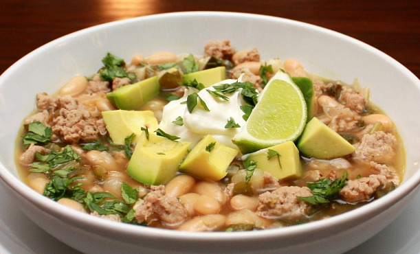 APPLE A DAY: White Turkey Chili