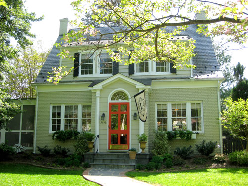 Exterior paint colors on pinterest exterior design cape cod and traditional exterior - Exterior painted brick houses image ...