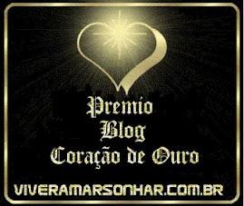 Prêmio Blog Coração de Ouro - 03/julho/09