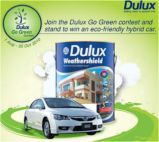 Dulux 'Go Green' Contest