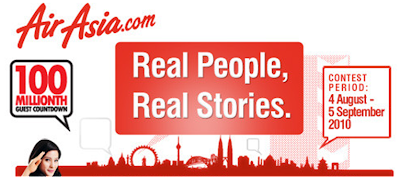 AirAsia 'Real People, Real Stories' Contest