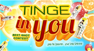 Spritzer 'Tinge in You - Best Shot' Contest