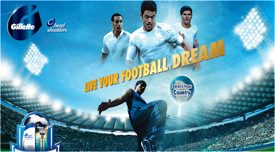 P&G 'Live Your Football Dream' Contest