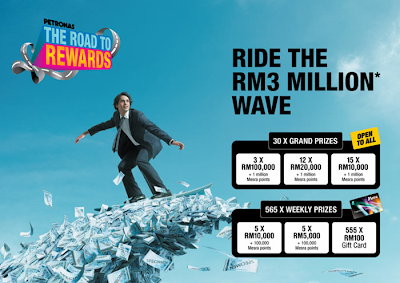 Petronas 'The Road To Rewards' Contest