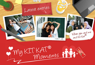 Nestle 'My Kit Kat Moments' Contest
