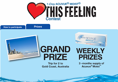 Acuvue 'Love This Feeling' Contest