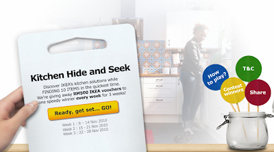 IKEA 'Kitchen Hide and Seek' Contest