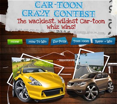 Nissan 'Car-toon Cra2y' Contest