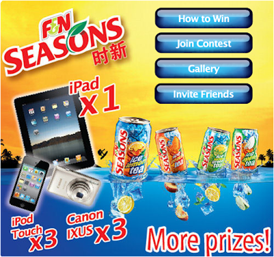 F&N Seasons 'Chillax Moments' Photo Contest