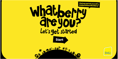 DiGi 'What Berry Are You?' Contest