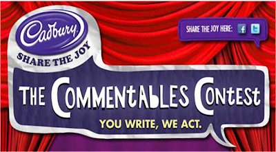 Cadbury 'The Commentables' Contest