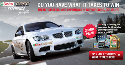 Castrol Edge 'Experience Nurburgring' Contest