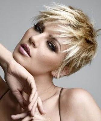 Gaya  Rambut Artis dan Model 2011-2012