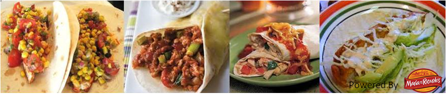 Tortilla and Wrap Recipe's presented by Maria and Ricardo's Tortilla Factory