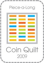 Piece along: Coin Quilt 2009
