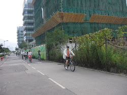 Biking in Sha Tin