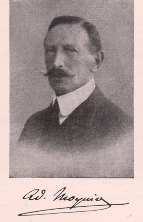 Adolphe Moynier,1860-1933.