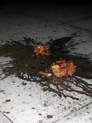 Sidewalk casualty
