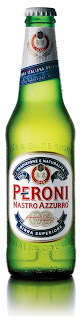 Peroni beer bottle