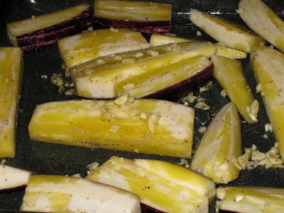 Seasoned eggplant