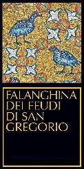 Falanghina dei Feudi di San Gregorio 2007 label