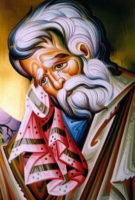 St Peter - Sotirios Panailidis, Iconographer