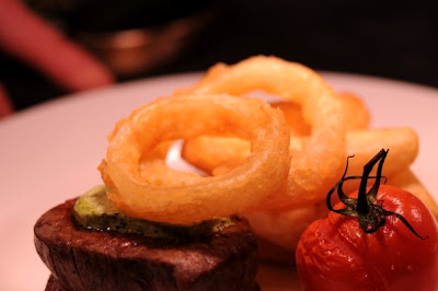 Grille fillet of aged Oxfordshire beef - The Nut Tree