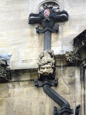 Tudor architecture (detail), Oxford University, UK