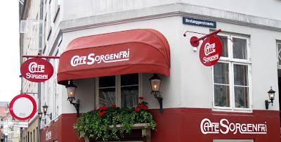 Sorgenfri storefront, København, Danmark