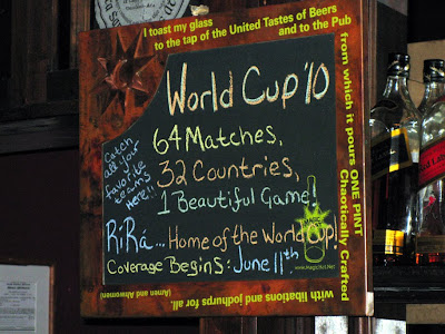 World Cup at the Rí Rá