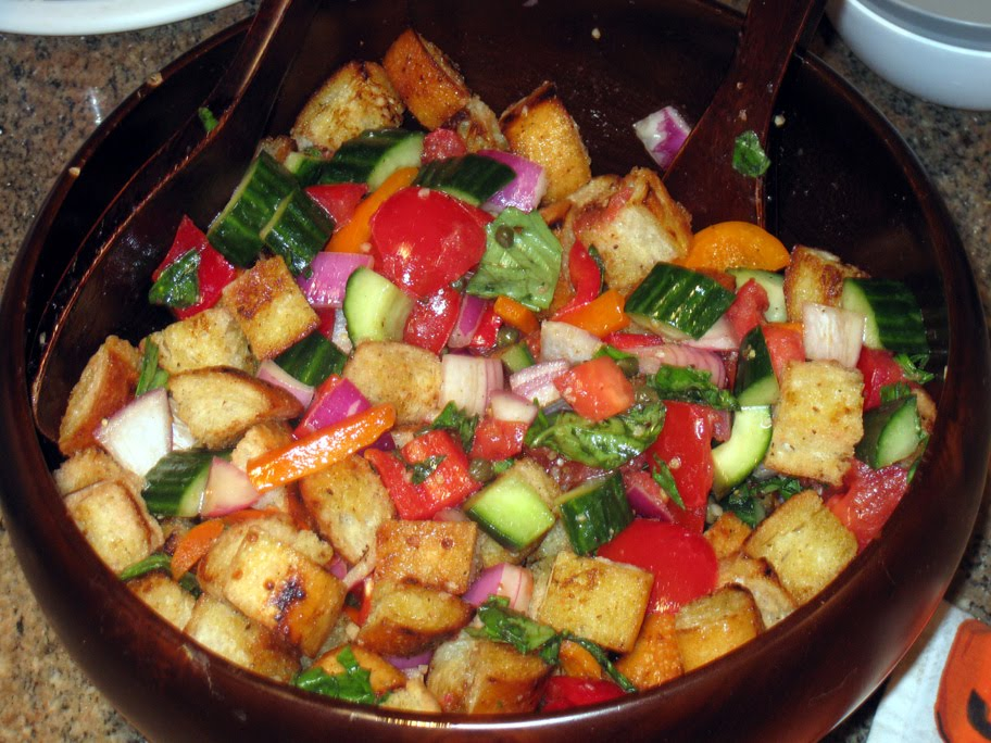 You gonna finish that october 2010 Barefoot contessa panzanella