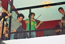 Yann Tiersen en los 3x3 de 33 7 de Abril de 2007