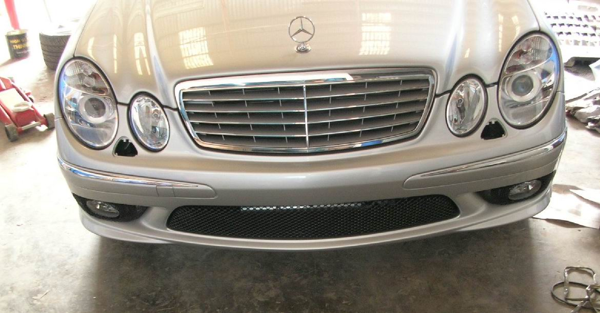 Bodykit AMG model for E class - W211 | Macam2 Bodykit & Carbon ...