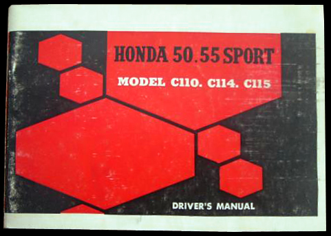 Contents contributed and discussions participated by rick honda c110 owners manual fandeluxe Images