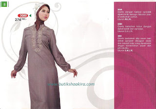Katalog Lengkap MANET Busana Muslim Edisi III Tahun 2010