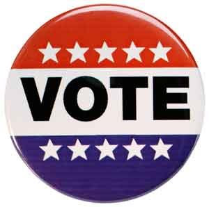 vote I voted. Have you?