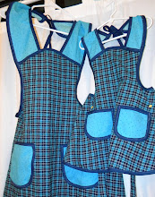 Mother/Son Apron Set