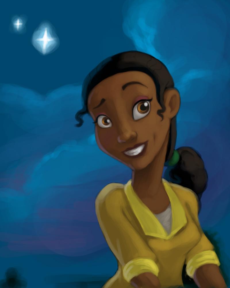 Princess Tiana Face: Princess And The Frog Tiana Face